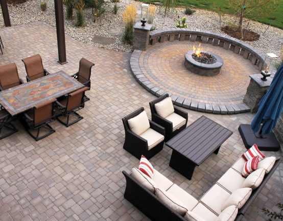 borgert cobble patio
