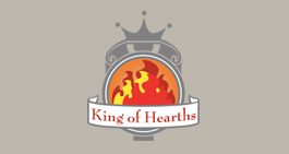 King of Hearths Logo