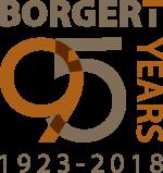 Borgert 95 Year Logo